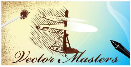Vector Master Logo by BobTheRanter