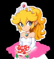 Princess Peach - Super Mario Odyssey by balitix