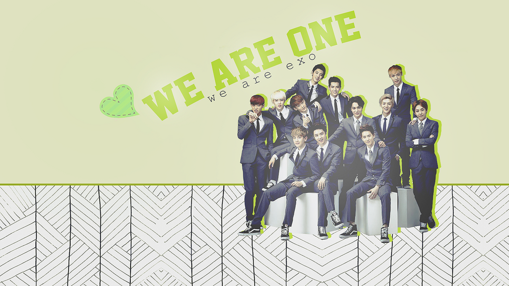 Exo We Are One Wallpaper By Charmingfeeling On Deviantart