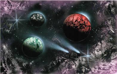 Celestial Odyssey by DsLEFTHAND