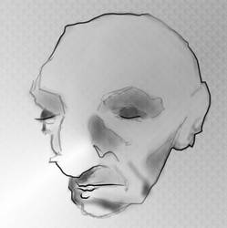 face study by Daluba
