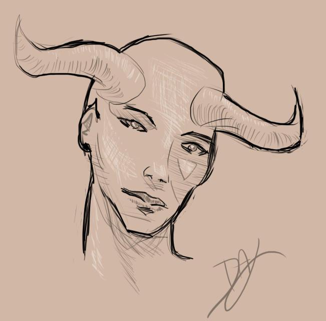 Devil Girl by Daluba