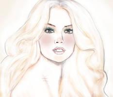Beautiful Blonde by Daluba