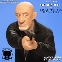 GroveBro Toons Mike Ehrmantraut 5 by GroveBrothersGallery
