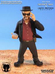 GroveBro Toons Heisenberg 1 by GroveBrothersGallery