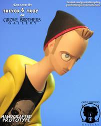 GroveBro Toons Jesse Pinkman 5 by GroveBrothersGallery