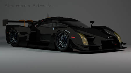 Scuderia Cameron Glickenhaus SCG003 - 3D model by aalexwerner
