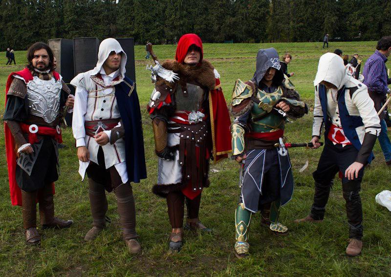 Assassins Creed Cosplay Reunion By Micizio On Deviantart