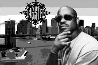 Guru of GangStarr by Miguelnigel