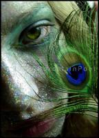 Peacock I by PorcelainPoet