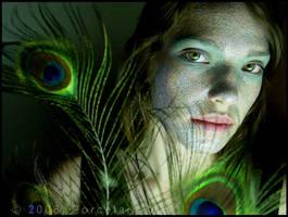 Lady Peacock by PorcelainPoet