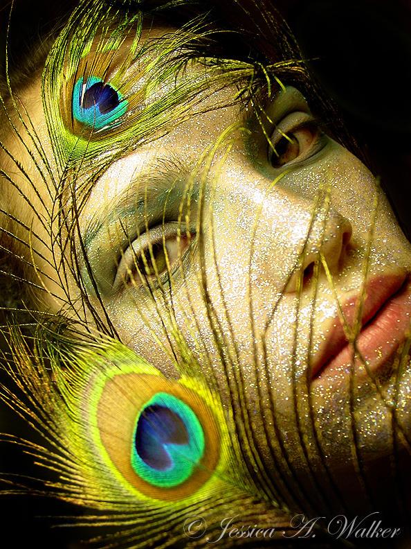 Lady Peacock II by PorcelainPoet
