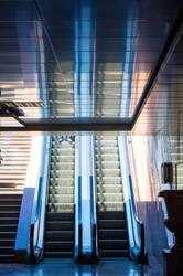 escalator by Vusal53