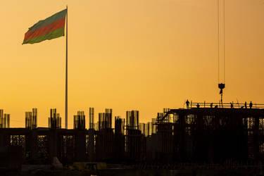 Baku,sunrise by Vusal53