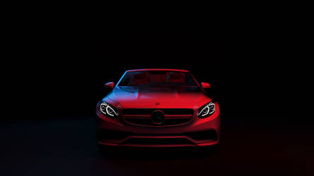 Neon Demon - Mercedes-Benz S63 AMG Cabriolet by FlashofWildfire