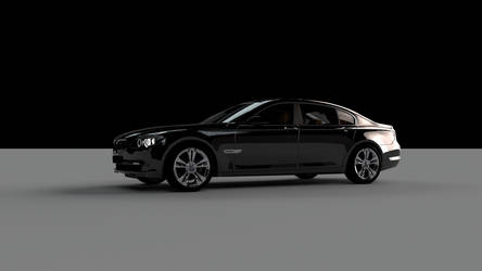 BMW 7 series by FlashofWildfire