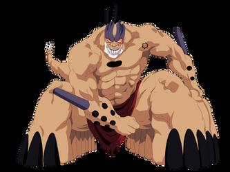 Yammy Llargo Resurreccion by Goku-Kakarot