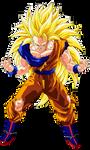 Goku Super Saiyan 3 by Goku-Kakarot