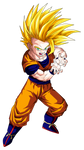 Gohan Super Saiyan 2 (teen) by Goku-Kakarot