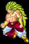 Broly Super Saiyan 3 by Goku-Kakarot