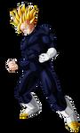 Gohan Super Saiyan 2 (adult) by Goku-Kakarot