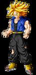 Trunks Super Saiyan (ascended) by Goku-Kakarot