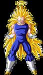 Vegeta Super Saiyan 3 by Goku-Kakarot
