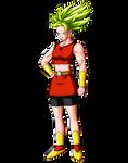 KALE Super Saiyan form (Dragon Ball Super) SSJ by Goku-Kakarot