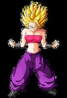 CAULIFLA Super Saiyan 2 SSJ2 by Goku-Kakarot