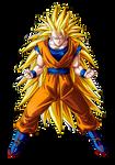 Goku Super Saiyan 3 SSJ3 by Goku-Kakarot