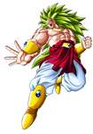 BROLY Legendary Super Saiyan 3 LSSJ3 by Goku-Kakarot