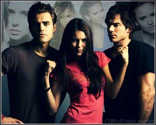 The Vampire Diaries by CVRD