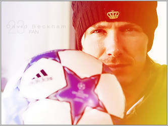 David Beckham fan by CVRD