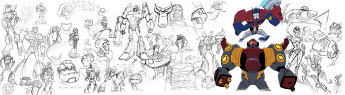 Too much Transformers. by AbigailRyder