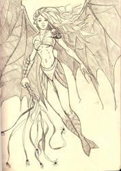 wingedsiren by Ancalagan