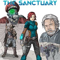The Sanctuary Cover by Ancalagan