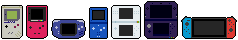 Smol Nintendo Handhelds by AsterianMonarch