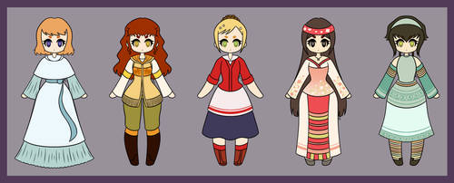 Harvest Moon Bachelorettes: Tale of Two Towns by AsterianMonarch