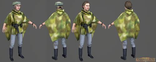 Star Wars Battlefront - Leia Endor Costume by Crazy31139