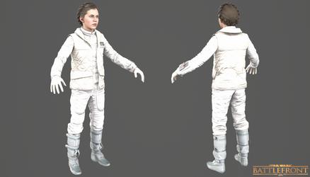 Star Wars Battlefront - Leia Leader Costume by Crazy31139