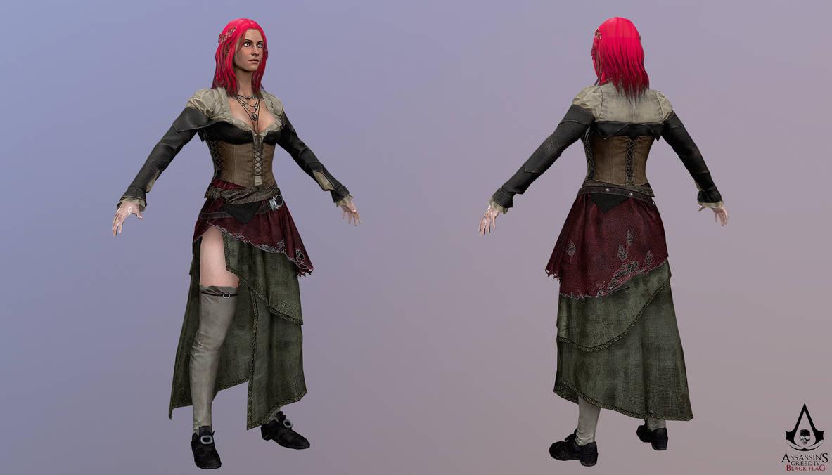 Assassins Creed 4 Black Flag Anne Bonny By Crazy31139 On Deviantart