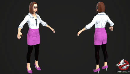 Ghostbusters The Videogame - Janine Melnitz by Crazy31139