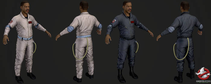 Ghostbusters The Videogame - Winston Zeddemore by Crazy31139
