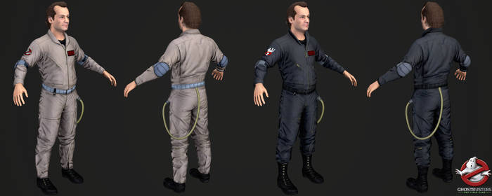 Ghostbusters The Videogame - Peter Venkman by Crazy31139