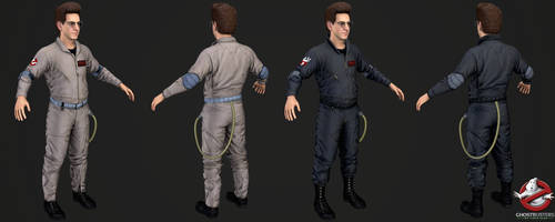 Ghostbusters The Videogame - Egon Spengler by Crazy31139