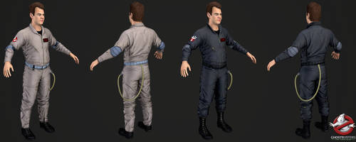 Ghostbusters The Videogame - Ray Stantz by Crazy31139