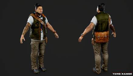 Shadow of the Tomb Raider - Jonah Maiava by Crazy31139