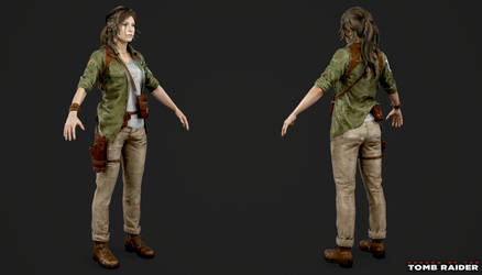Shadow of the Tomb Raider - Lara Explorer by Crazy31139