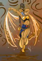 Belly Dancer by Otagoth