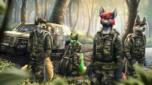 Continuing on Foot by Xentrey